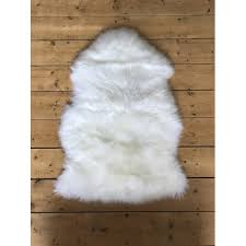 xl new zealand single sheepskin rug ivory white