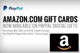 amazon gift card paypal credit