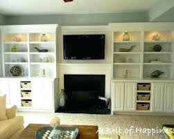 built in bookshelves around fireplace ins luxury 3 creative storage solutions for the family room shelves