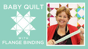 Missouri Star Baby Quilt with Flange Binding: Easy Quilting ... & Missouri Star Baby Quilt with Flange Binding: Easy Quilting Tutorial with  Jenny Doan - YouTube Adamdwight.com