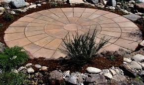 round patio. 14ft Circular Patio Round D