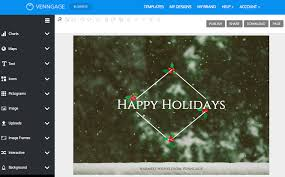 create your own christmas cards free printable online card maker create a custom card with venngage