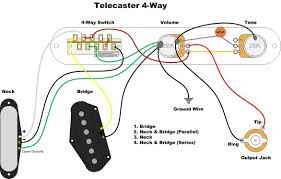 tele way switch wiring diagram diagram four way wiring diagram image telecaster broadcaster blend fender