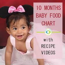 10 Months Indian Baby Food Chart With Recipe Videos Tots