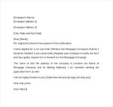 Letter Employment Verification Blank Employment Verification Form Sociallawbook Co