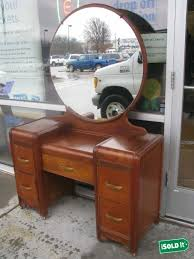 adorable enchanting antique vanity with round mirror best images about french art deco on vintage