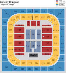 Bos Center Seating Charts By Event
