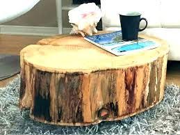 tree trunk furniture for sale. Stump Coffee Table Tree Trunk End Tables For Sale Furniture