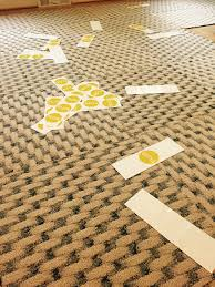 I have been interested in trying FLOR carpet squares for a long time, and  finally found an opportunity while redesigning my dining room.