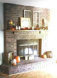 fireplace mantle ideas mantel decorating for brick decor mantels idea best mantles pictures decorated
