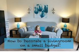 how to decorate a living room on really small budget large size