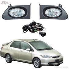 Car Fog Lights For Honda City 2003 2005 Halogen Bulb Front Fog Lights Bumper Lamps Kit Price Us 15900 Piece