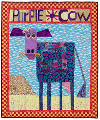 Kick-start your quilt creativity…with cows? - Stitch This! The ... & Purple Cow quilt Adamdwight.com