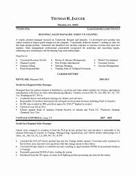 50 Inspirational Sample Resume Of Sales Manager Resume Templates