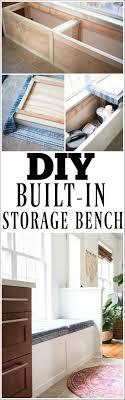 Diy Built In Storage Diy Built In Storage Bench Tutorial One Room Challenge Week 3