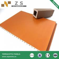 Decorative Tiles To Hang 100mm Terracotta Facade Tile For Exterior WallDecorative Outdoor 90