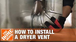 How To Install A Dryer Vent The Home Depot