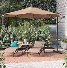 patio umbrellas cantilever. Beautiful Cantilever Belleze Patio Umbrella 10 Ft Offset Cantilever Outdoor Market  Hanging Umbrellas And Crank W And O