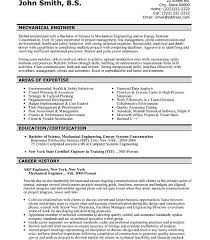 Resume Headline Examples Sample Resumes For Freshers Engineers With