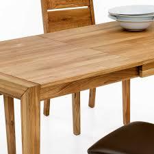Ausziehbarer Esszimmertisch Aus Holz Wildeiche Estalla