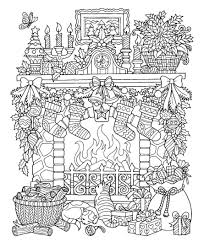 All in one christmas coloring pages. Christmas Scene Coloring Pages Christmas Coloring Sheets Christmas Coloring Books Printable Christmas Coloring Pages