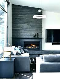 black black tile fireplace slate modern for black slate tile fireplace s