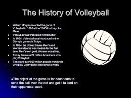 volleyball study sheet ppt video online  the history of volleyball