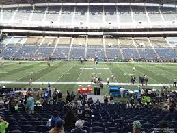 Seattle Seahawks Stadium Seating Chart Rows Centurylink Field Section 135 Seattle Seahawks