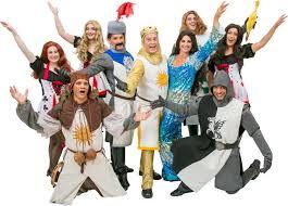 al costumes for monty python s spamalot spamalot cast