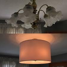 ikea lighting chandeliers. Gold Chandelier Makeover. A Simple Ikea Hack Letting You Upgrade Lighting In Rental. Chandeliers T