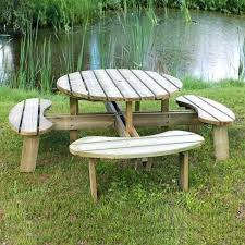 round picnic table picnic table kit home depot picnic table bench plans