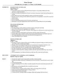 Download Stock Controller Resume Sample as Image file