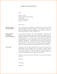 Letter Of Intent For Employment Template 2 Sample A Job Transfer