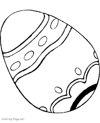 Big Easter Egg Coloring Page Coloring Easter Egg Coloring Pages