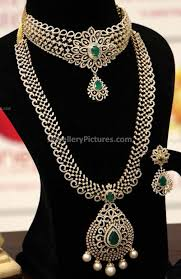 indian diamond jewellery designs dazzling diamond pendants