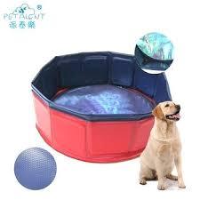 strong pet swimming dog bath tub portable collapsible wash bathtub pool flying pig washing shower portable dog bath tub