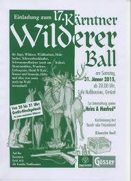Wildererball Beim Nussbaumer In Gmünd Spittal