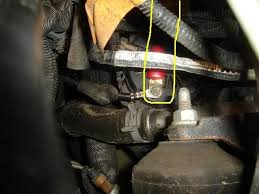power wire questions big 3 chevy trailblazer trailblazer ss stright shot to the alternator from behind the new ring terminal
