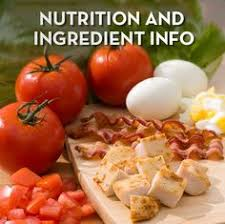 wendy s nutrition information soy allergy health facts nutrition information calorie counting american