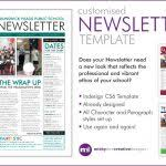 One Page Newsletter Templates One Page Newsletter Template One Page Newsletter Template Best And
