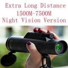 Super High Power 40X60 Portable HD OPTICS BAK4 Night ... - Vova