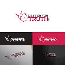 Graphic Letter Design Online Letter For Truth Dot Com Logo Online Alternative News