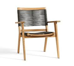 palmer rope stacking dining armchair