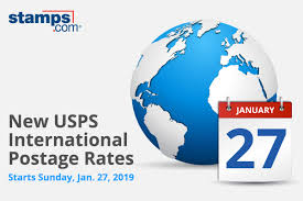 2019 Usps Postage Rate Increase International Shipping