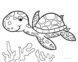 Small Picture Drawn sea turtle colouring page Pencil and in color drawn sea