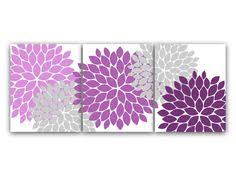 home decor canvas wall art lavender and gray flower burst art prints bathroom wall decor purple bedroom decor nursery wall art home41 on purple bathtub wall art with love color for my bedroom color them is khaki white leather gold
