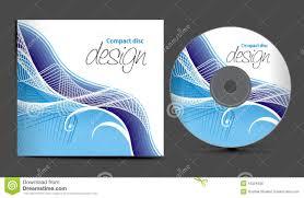Cd Cover Design Stock Vector Illustration Of Curve Illustration
