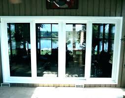 patio door rough opening andersen
