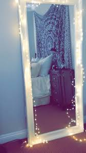 Tapestry boho black white teen bedroom twinkle lights Fav Tapestries,  Twinkle Lights and Mirror