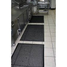 Kitchen Rubber Floor Mats Restaurant Floor Mats Mat 2530 C5bx 36 X 60 Black Rubber